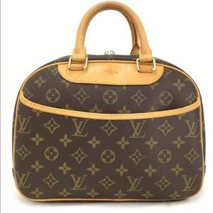 100% Authentic Louis Vuitton Trouville Hand Bag
